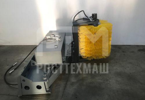 Купить Мойка барьерных ограждений МБО – 800/800 и другое навесное оборудование для Мини Погрузчиков по низкой цене и на выгодных условиях от компании РостТехМаш!