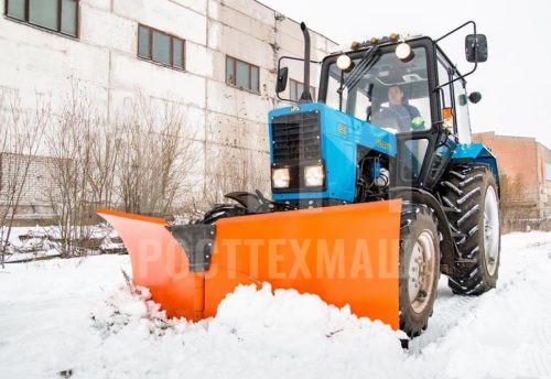 Купить Отвал бабочка и другое навесное оборудование для МТЗ по низкой цене и на выгодных условиях от компании РостТехМаш!