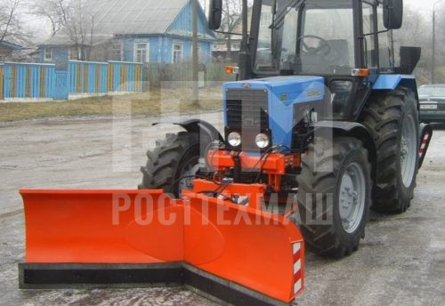 Купить Отвал НТУ-10 и другое навесное оборудование для МТЗ по низкой цене и на выгодных условиях от компании РостТехМаш!
