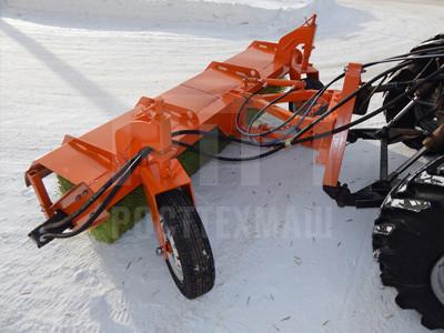 Купить Передняя щетка поворотная ЩФ 2.5 и другое навесное оборудование для МТЗ по низкой цене и на выгодных условиях от компании РостТехМаш!