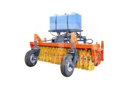 Купить Щетка коммунальная с гидроприводом и другое навесное оборудование для МТЗ по низкой цене и на выгодных условиях от компании РостТехМаш!