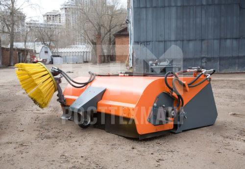 Купить Щетка с бункером 2в1 (Ковш + Щётка) и другое навесное оборудование для Мини Погрузчиков по низкой цене и на выгодных условиях от компании РостТехМаш!