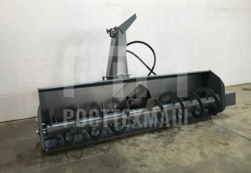 Купить Снегоочиститель фрезерно-роторный С-200 и другое навесное оборудование для Мини Погрузчиков по низкой цене и на выгодных условиях от компании РостТехМаш!
