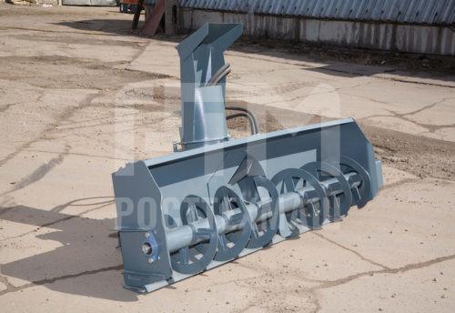 Купить Снегоочиститель шнекороторный С-173 и другое навесное оборудование для Мини Погрузчиков по низкой цене и на выгодных условиях от компании РостТехМаш!