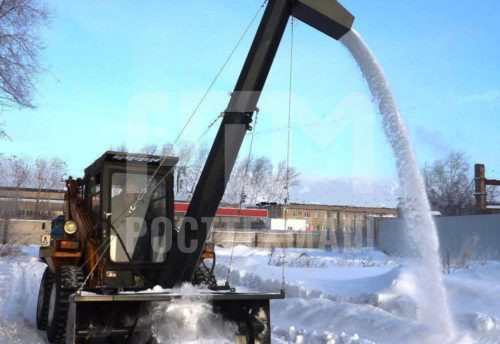 Купить Снегопогрузчик и другое навесное оборудование для Мини Погрузчиков по низкой цене и на выгодных условиях от компании РостТехМаш!