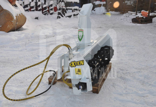 Купить Снегоротор, снегоочиститель и другое навесное оборудование для Мини Погрузчиков по низкой цене и на выгодных условиях от компании РостТехМаш!