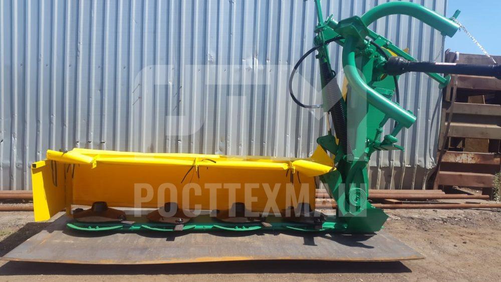 Купить Косилка ротационная навесная КРН — 2.1Б-1 и другое навесное оборудование для МТЗ по низкой цене и на выгодных условиях от компании РостТехМаш!