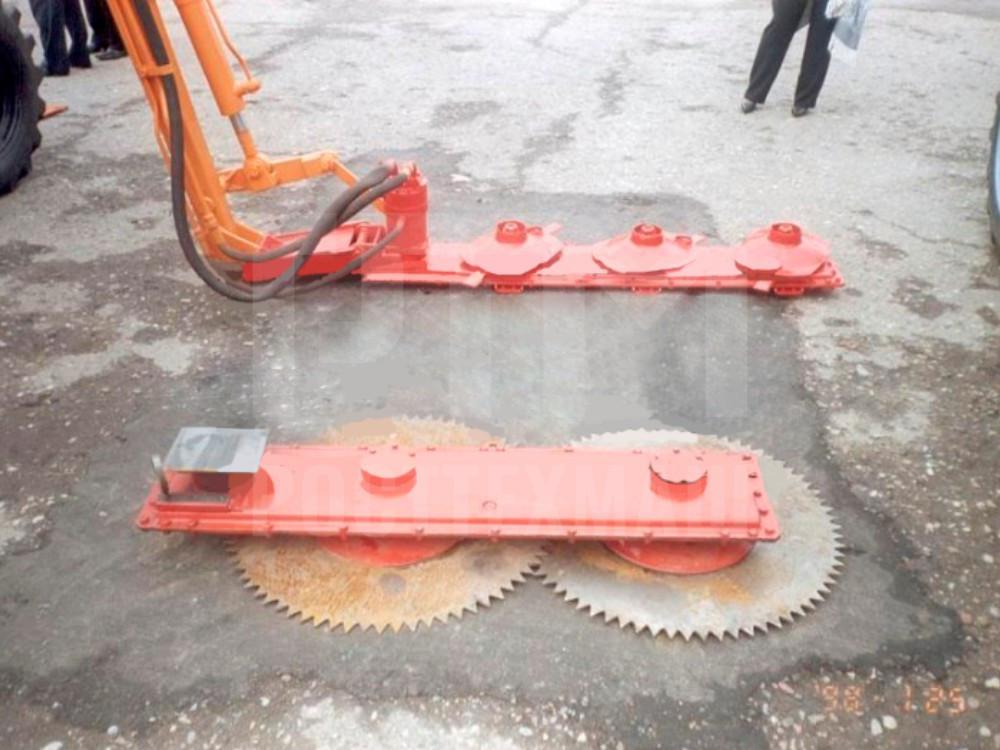 Купить Кусторез К-78М и другое навесное оборудование для МТЗ по низкой цене и на выгодных условиях от компании РостТехМаш!
