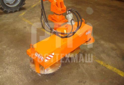 Купить Кусторез НО-82 и другое навесное оборудование для МТЗ по низкой цене и на выгодных условиях от компании РостТехМаш!